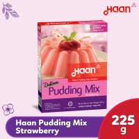 Haan Pudding Mix Strawberry