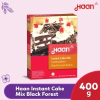 Haan Instant Cake Mix Black Forest