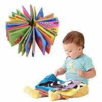 HOME104 Mainan Edukasi Buku Kain Untuk anak