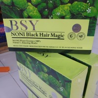BYS shampo noni black Hair Magic