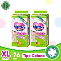 Merries Pants Good Skin XL 38S Twinpack