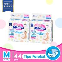 Merries Baby Diapers M 22S Twinpack