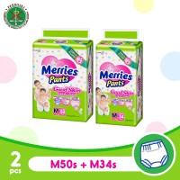 Merries Pants Good Skin M 50S + M 34S