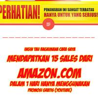 Jual Pejwan Youtube 15 Sales Perhari Dr Amazon Hanya Menggunakan Youtube Kota Lubuk Linggau Nos Marketing Tokopedia
