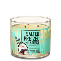 BBW - SALTED PRETZEL MILKSHAKE 3-Wick Candle