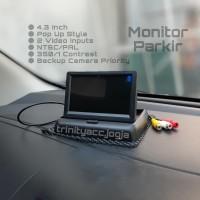 Monitor Parkir 4.3 Inch Garansi