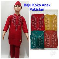 Baju Koko Anak Pakistan free Peci
