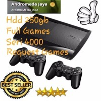 PS3 PS 3 Sony Playstation Super Slim 250GB + FULL GAME