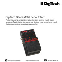 Digitech Death Metal Pedal Effect