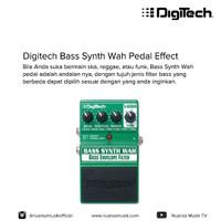 Digitech Bass Synth Wah Pedal Effect