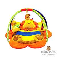 Pumpee Playmat Zoo Lion Bee / alas bermain bayi