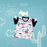 Tshirt Fratello Foxy / baju kaos anak laki-laki