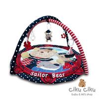 Pumpee Playmat Sailor Bear / alas bermain anak