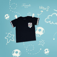 Tshirt Fratello Mario / baju kaos anak laki-laki
