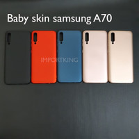 Samsung A70 Baby skin hard case casing hp ultra thin cover