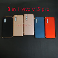 Vivo v15 pro 3 in 1 chrome case
