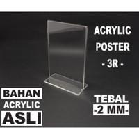Akrilik/Acrylyc tempat Brosur 3R