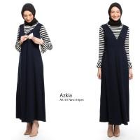 Baju Hamil Long Dress Gamis Hamil dan Menyusui Azkia