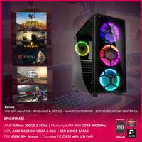 PC Gaming   AMD Athlon 200GE   Vega 3   8GB Dual Channel   240GB SSD