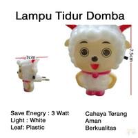 Lampu Tidur Domba / Lampu Malam Karakter Sheep LED 3W Hemat Energy