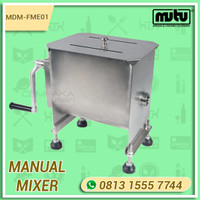 Alat Pengaduk Adonan Kue Roti Manual Stainless Steel Mutu MDM-FME01