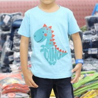 Kaos Dino kartun karakter OSHKOSH dinosaurus Baju Anak FL-3662-NP