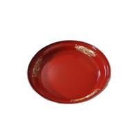 Nampan Enamel Merah 30 cm