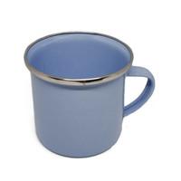 Mug Enamel 8 cm - Biru Muda