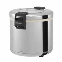 Rice Warmer / Penghangat Nasi Stainless Steel 23 Liter GOJEK ONLY