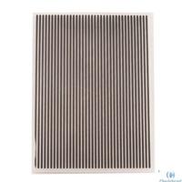 Vertical Lines Pattern Embossing Folder