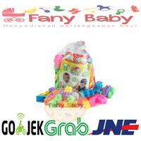 Mainan Kreatif Anak Block 152pcs