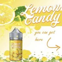 Lemon Candy Salt 24MG 30ML - Premium Vape Liquid Lemon Candy Salt Nic