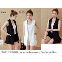 Pocket Vest Blazer