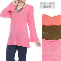 Nasha knit | fashion rajut wanita | baju rajut murah bandung |diskon