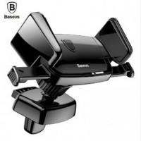 Baseus Air Vent Smartphone Car Holder Mobil - SUJXS-01 - Black
