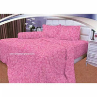 [NEW] Bedcover Set King T30 Vallery Pink 180x200 cm tinggi 30 cm