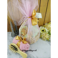 souvenir handuk set 1 order 10-99pcs hampers