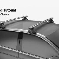 Cross bar Thule Wing Bar EVO 2020 model Innova Reborn Ertiga