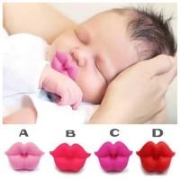 THT04 - empeng bibir full lips baby pacifier dot teether gigitan bayi
