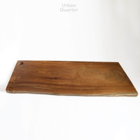 Rustic Wood Serving Tray Large