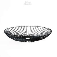 Dewey Wire Bowl in Black Large