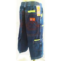 456-461*13-16 tahun Celana pendek bawahan jeans 3/4 bermuda anak cowo