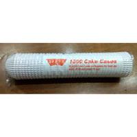 Cake Cases 7 cm Putih Klassi Isi 1000 Pcs