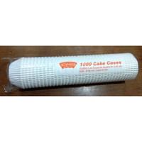 Cake Cases 9,5 cm Putih Klassi Isi 1000 Pcs