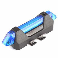 Lampu Depan Belakang Sepeda 5 LED Taillight Rechargeable Bisa di Cas