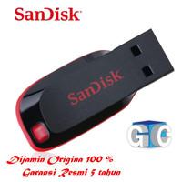Flashdisk FD Sandisk Cruzer Blade 16GB USB 2.0