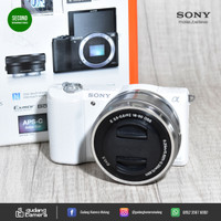 SECONDHAND - Sony A5100 Kit 16-50mm - 7586 - Gudang Kamera Malang