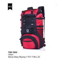 Tas travel Mudik Lebaran Premium warna Hitam merah Original Mewah Awet