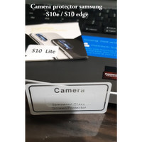 Samsung S10 edge / s10 lite camera tempered glass