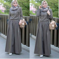 Baju Gamis Wanita Terbaru Sadira Dress Baju Maxi Hijab Syari Murah